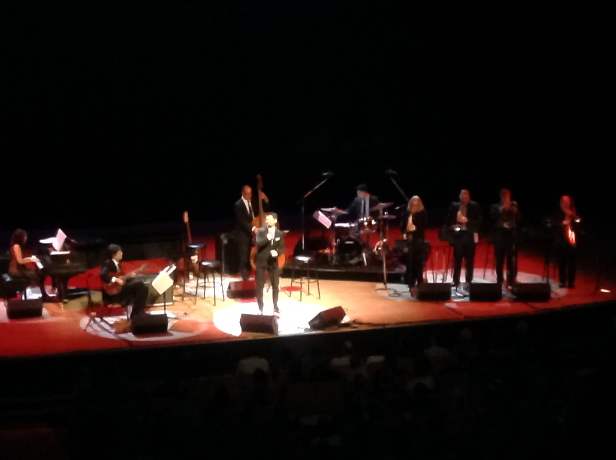 Emilie-Claire Brown & Matt Dusk on stage