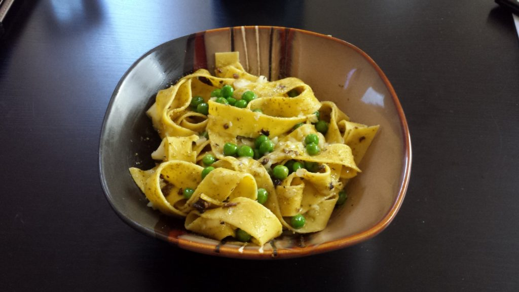 Pesto Pappardelle Recipe