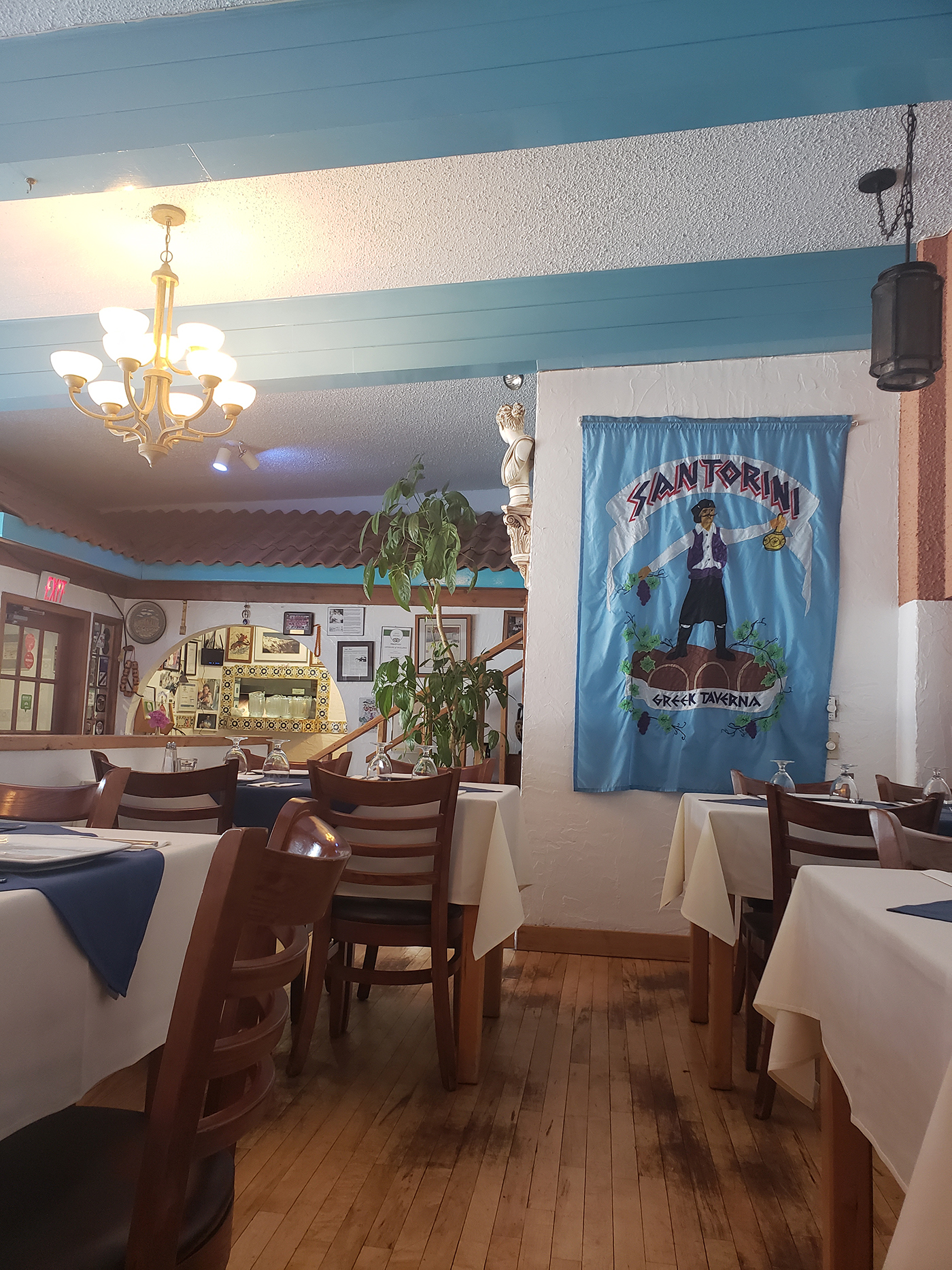 Santorini Greek Taverna Restaurant Review