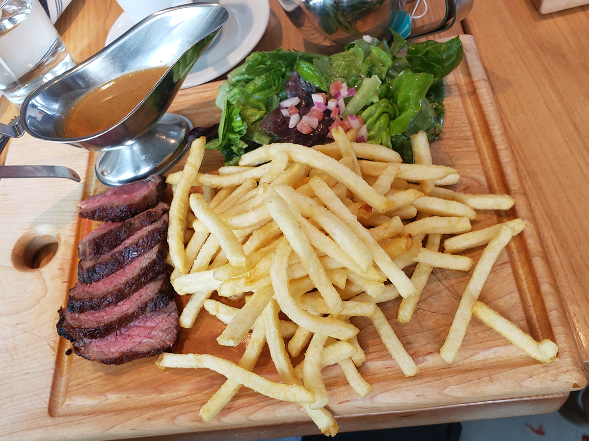 Cassis Bistro Steak Frites